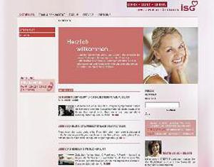 ISG Webseite: www.liebe-lust-leben.de
